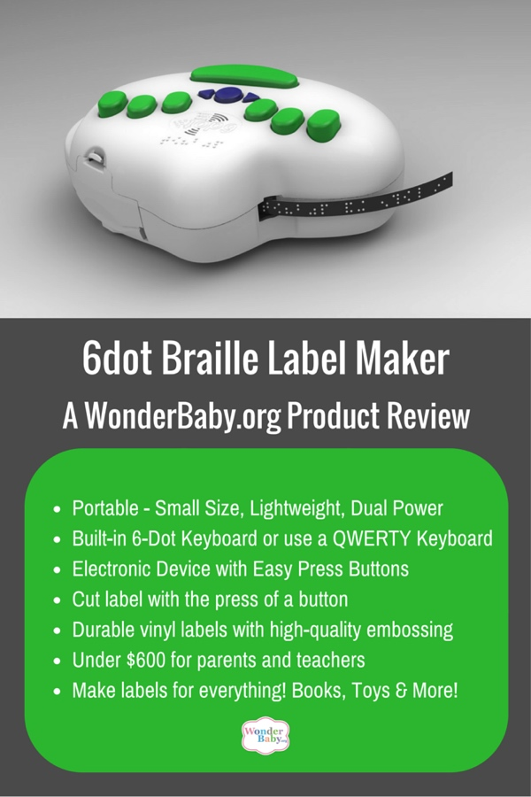6dot Braille Label Maker