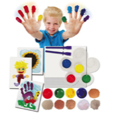 Sensory Solutions Finger Painting Kit