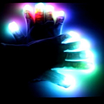 Multicolor LED Gloves