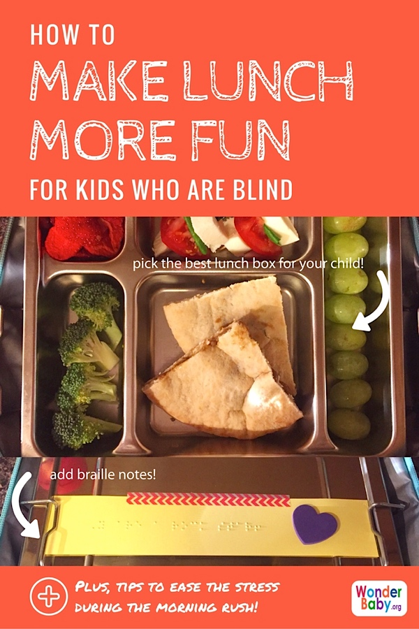 Making Lunch Time More Fun for Blind Kids