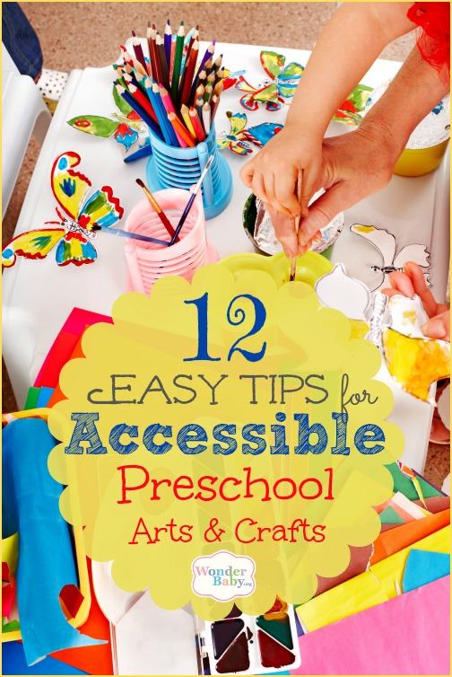 12 Tips for Accessible Arts and Crafts