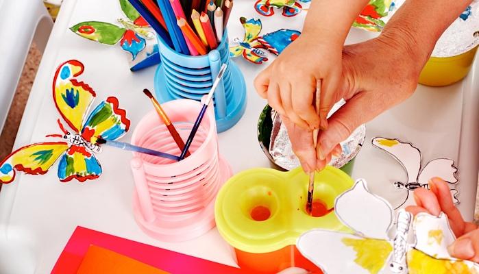 Accessible Preschool Arts & Crafts