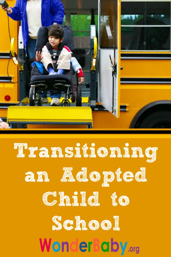 Transitioning an Adopted Child to School