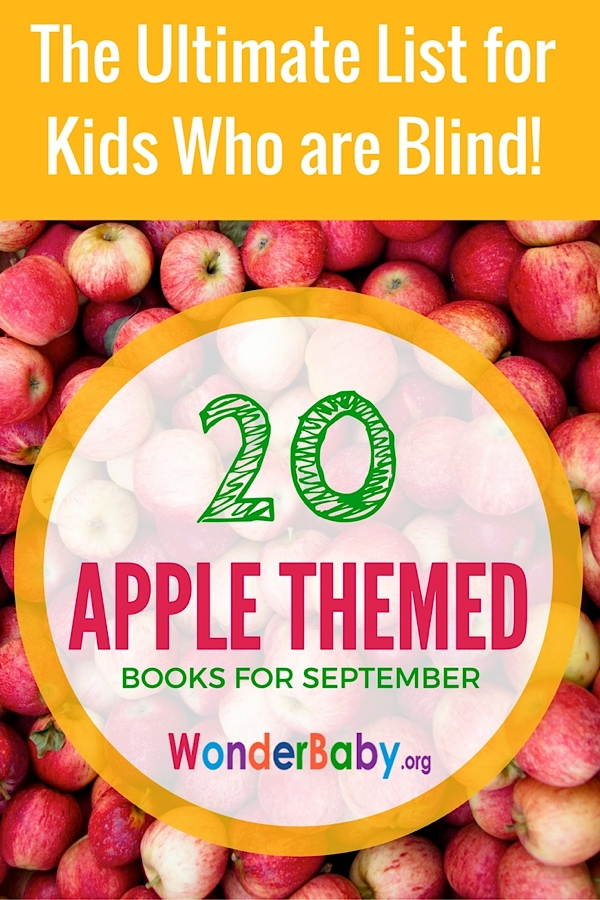 20 Apple Themed Books For Kids Who Are Blind