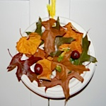 autumn wreath art project