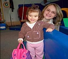 Ava in preschool