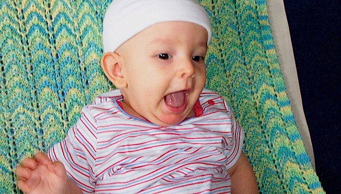baby ivan wearing a hat