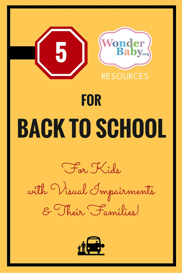 5 Back-to-School Resources for Kids with Visual Impairments