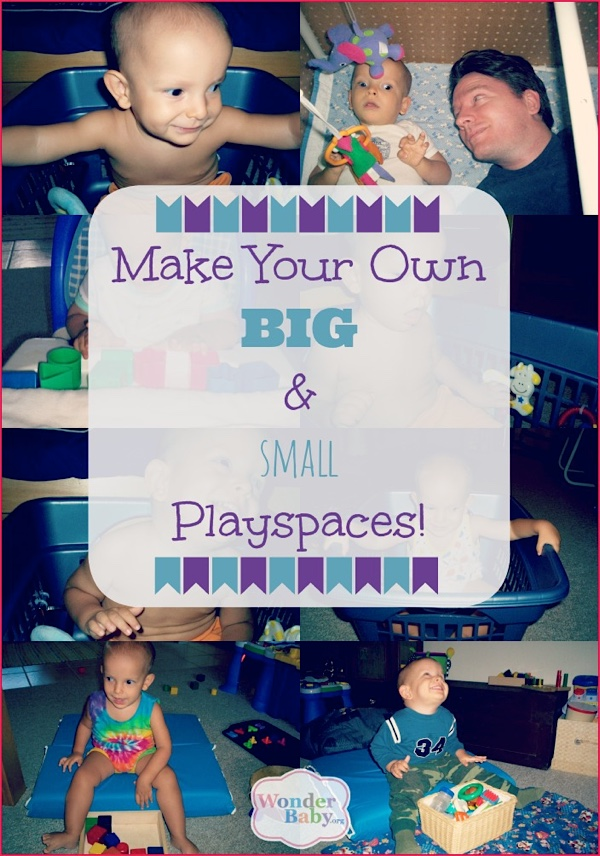 Make your own big and small playspaces