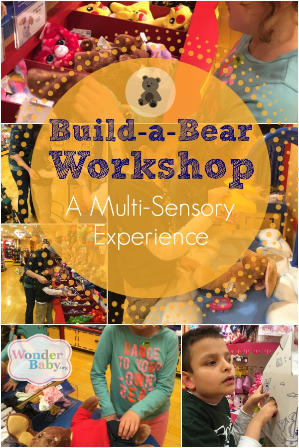 Build-a-Bear Workshop: A Multi-Sensory Experience!