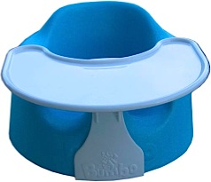 Bumbo Baby Seat with tray.