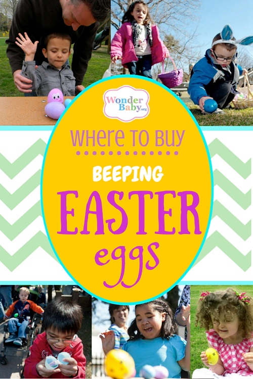 Where to buy Beeping Easter Eggs
