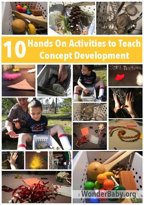 teaching concept development to blind kids