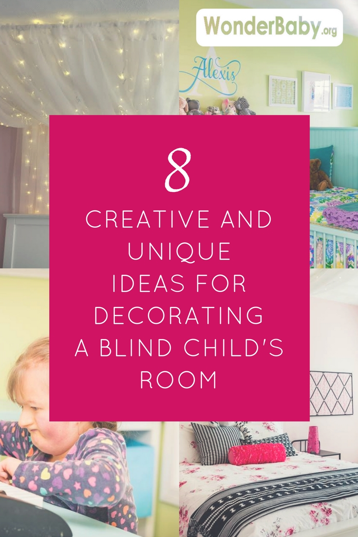 8 Creative and Unique Ideas for Decorating a Blind Child's Room