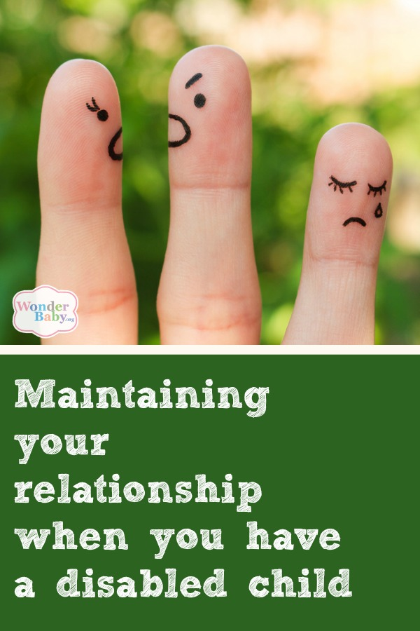 Maintaining your relationship when you have a disabled child