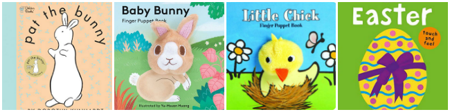 Touch-and-Feel Easter Books