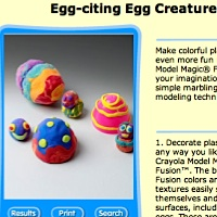 Easter crafts from Crayola.