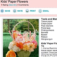 Easter crafts from Martha Stewart.