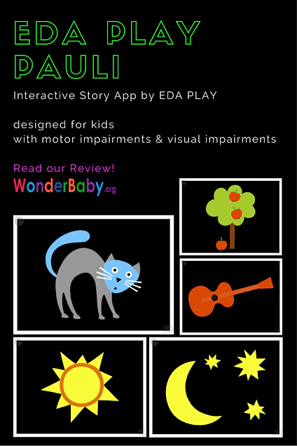 EDA PLAY PAULI: Interactive Story App for Visually Impaired Kids