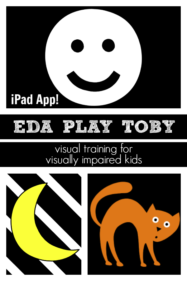 EDA PLAY TOBY: iPad app that teaches visual training to visually impaired kids
