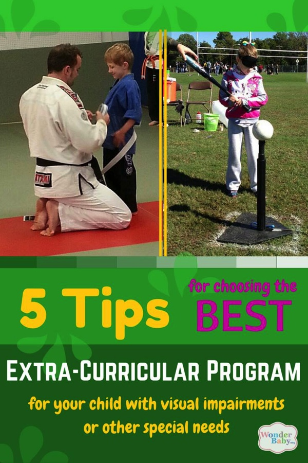 5 Tips for Choosing the Best Extracurricular Program for Your Child with Visual Impairments