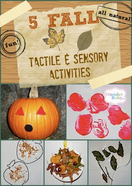 Five fun fall sensory activities