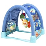 Fisher-Price Ocean Wonders Kick & Crawl Aquarium Gym