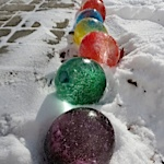 frozen balloons project