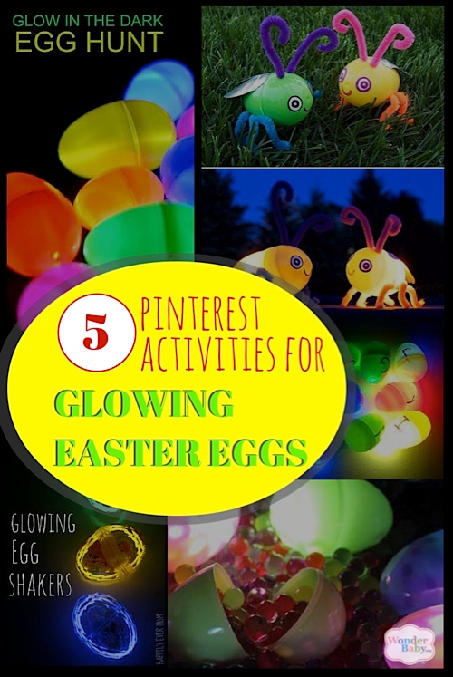 5 Great Glowing Easter Egg Ideas from Pinterest
