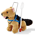 Guide Dog, Harness and Cane