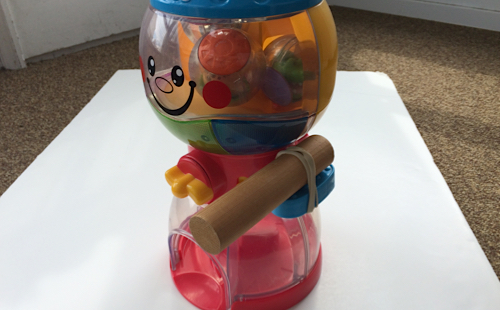 adding a lever to the gumball machine