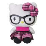 Hello Kitty Plush with Glasses