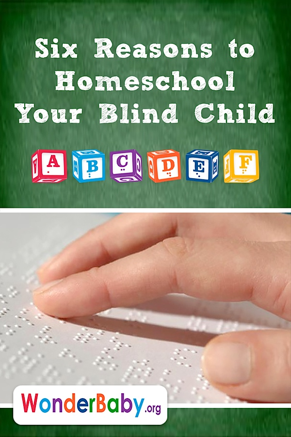 Six Reasons to Homeschool Your Blind Child