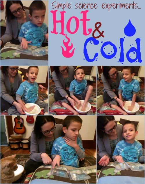 Learning about hot and cold