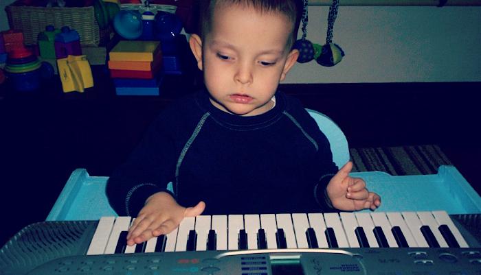 Ivan playing piano