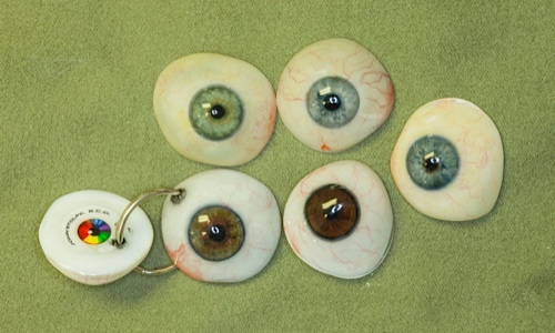 3d printed artificial eyes