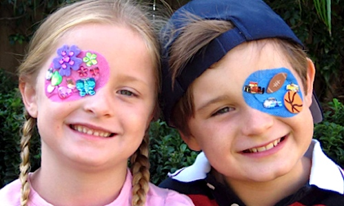 Kids eye patches orthoptic eye patches for kids youtube.