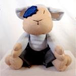 Plush Lamby Lambpants Patching Cuddle Toy