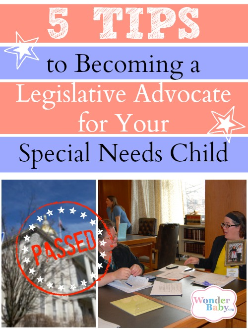 How to become a legislative advocate for your special needs child.