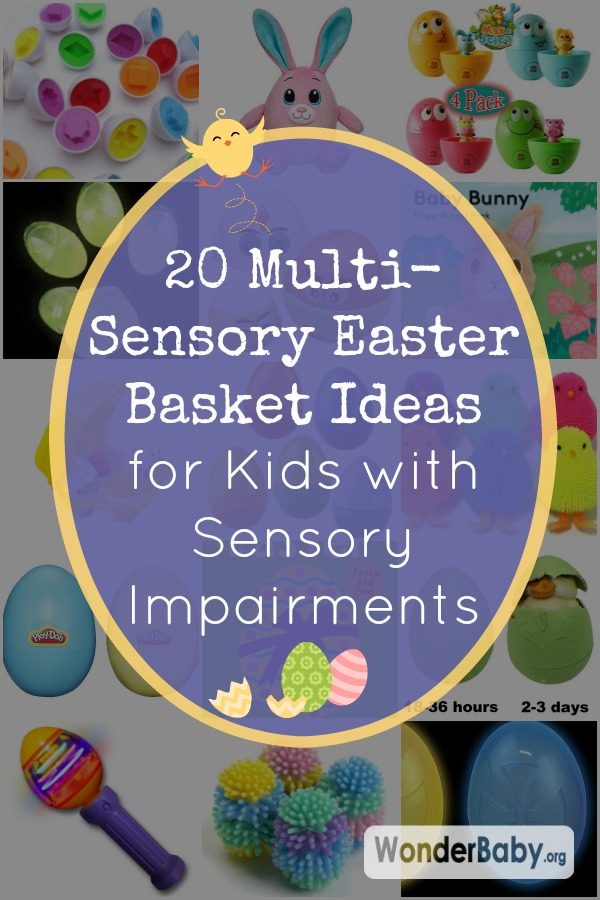 20 Multi-Sensory Easter Basket Ideas for Kids with Sensory Impairments