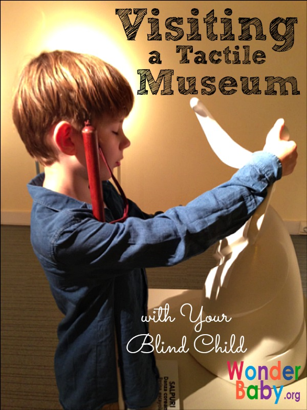 Visiting a Tactile Museum with Your Blind Child