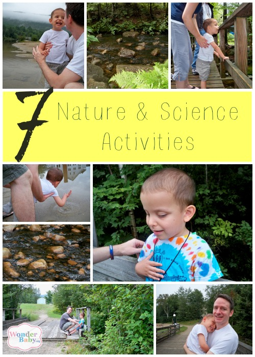 Science and nature activities for young children who are blind