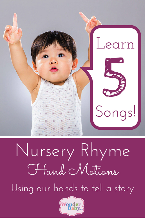 Nursery Rhyme Hand Motions