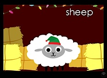 Peekaboo Barn Sheep