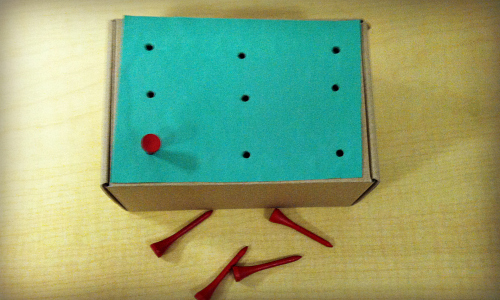 Shoebox Pegboard