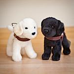 Plush Working Puppy, Labrador Retriever