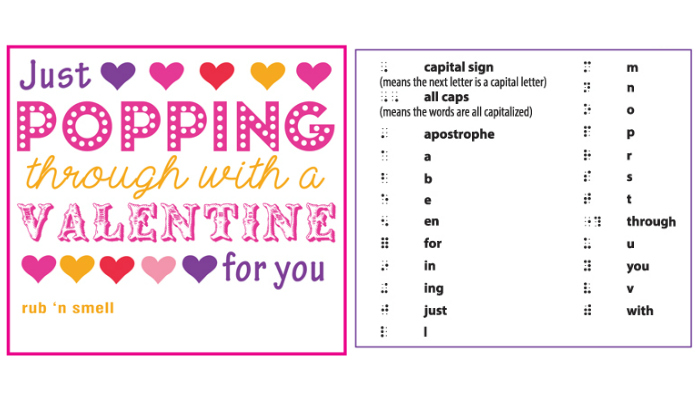 Just Popping Through with a Valentine for You
