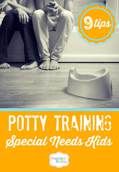 Potty training special needs kids