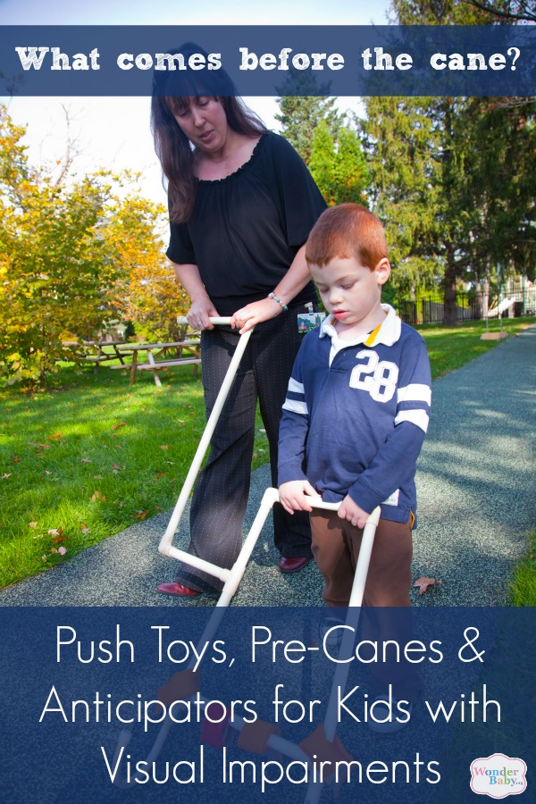 Anticipators for Young Children with Visual Impairments: Push Toys, Pre-Canes and Long Canes