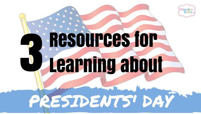 3 Resources for Learning About Presidents Day with US flag background
